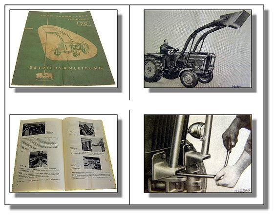 John-Deere-700-Betriebsanleitung-Frontlader-70-von-1963