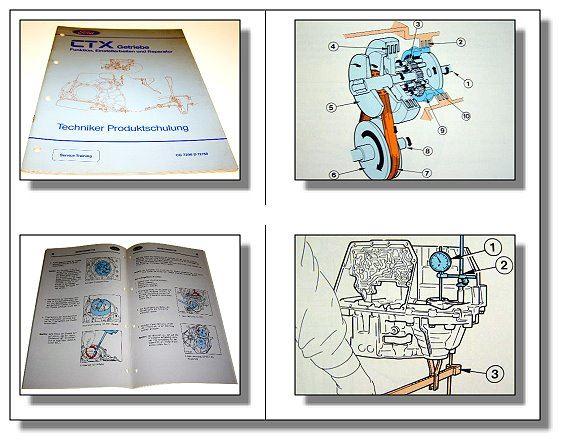 werkstatthandbuch ford fiesta automatikgetriebe ctx reparaturhandbuch 1988 ebay. Black Bedroom Furniture Sets. Home Design Ideas