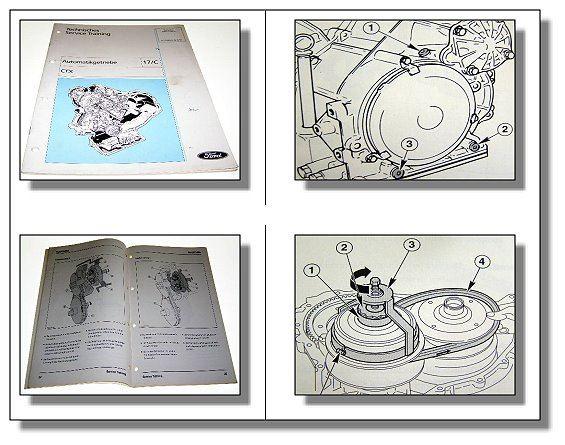 werkstatthandbuch ford automatikgetriebe ctx schulung im fiesta escort 1997 ebay. Black Bedroom Furniture Sets. Home Design Ideas