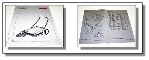 hako profi flipper 6288 ersatzteilliste. Black Bedroom Furniture Sets. Home Design Ideas