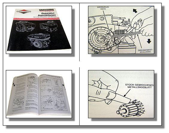 briggs stratton ohv motoren reparaturhandbuch 1993 ebay. Black Bedroom Furniture Sets. Home Design Ideas