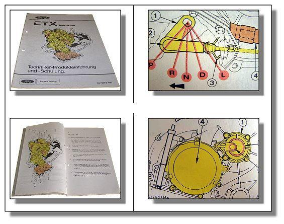 werkstatthandbuch ford fiesta ctx transachse automatikgetriebe schulung 1987 ebay. Black Bedroom Furniture Sets. Home Design Ideas