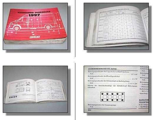 fiat nutzfahrzeuge 1997 kenndaten werkstatthandbuch ebay. Black Bedroom Furniture Sets. Home Design Ideas
