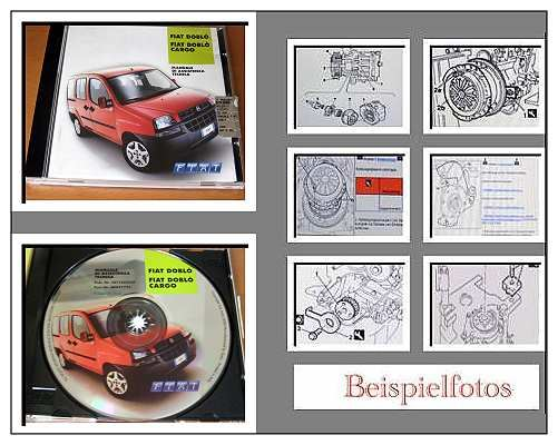 fiat doblo doblo cargo werkstatthandbuch 2002 cd ebay. Black Bedroom Furniture Sets. Home Design Ideas