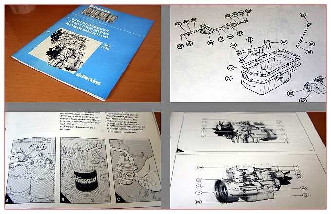 perkins 1004 4trt motor parts list parts book. Black Bedroom Furniture Sets. Home Design Ideas