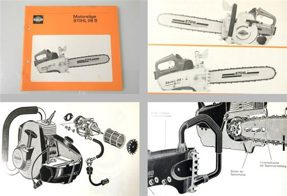stihl 08s motors ge betriebsanleitung etl ca 1970 ebay. Black Bedroom Furniture Sets. Home Design Ideas