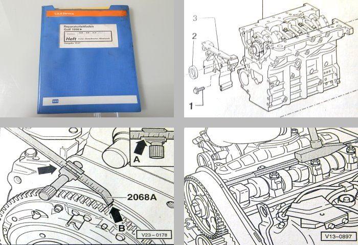 reparaturleitfaden vw golf 4 1 9l dieselmotor. Black Bedroom Furniture Sets. Home Design Ideas