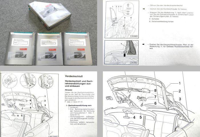 audi cabriolet 8g b4karosserie montagearbeiten reparaturen. Black Bedroom Furniture Sets. Home Design Ideas