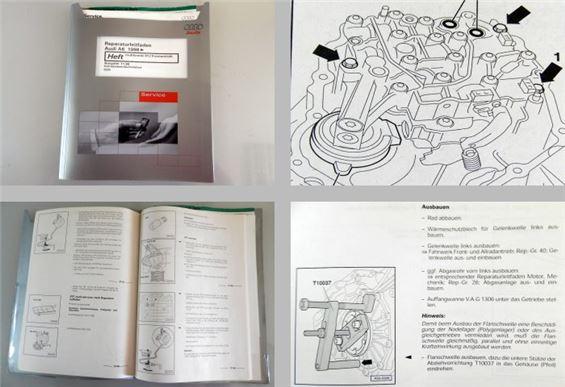 audi a6 c5 01j werkstatthandbuch multitronic reparatur ebay. Black Bedroom Furniture Sets. Home Design Ideas