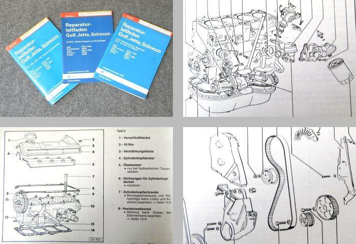 vw golf 1 cabrio scirocco werkstatthandbuch. Black Bedroom Furniture Sets. Home Design Ideas