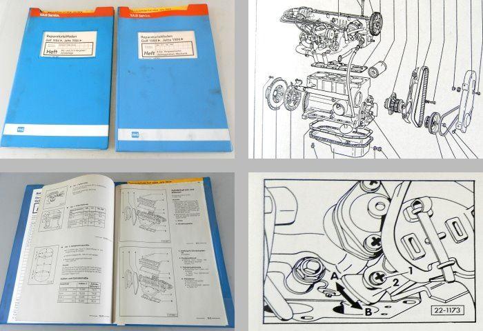 reparaturleitfaden vw golf 2 werkstatthandbuch 4 zyl. Black Bedroom Furniture Sets. Home Design Ideas