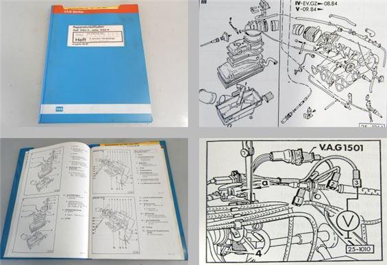 vw golf ii 1 8 k jetronic z ndung werkstatthandbuch ev gx. Black Bedroom Furniture Sets. Home Design Ideas