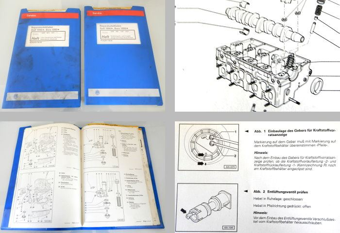 reparaturleitfaden vw golf 4 bora reparaturhandbuch 1 9. Black Bedroom Furniture Sets. Home Design Ideas