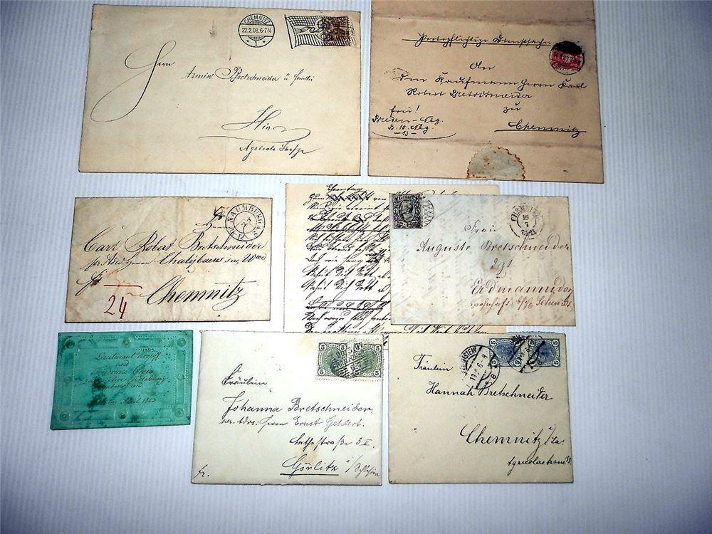 Briefe Mit Briefmarken Bekleben : Posten briefe mit stempeln und briefmarken ab