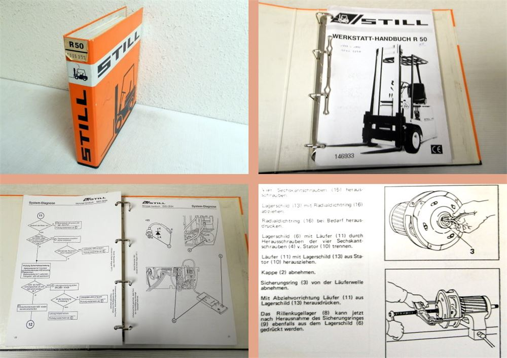 werkstatthandbuch still r50 gabelstapler. Black Bedroom Furniture Sets. Home Design Ideas