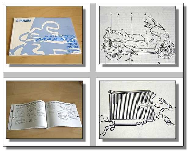 Yamaha Majesty Yp400 Users Manual